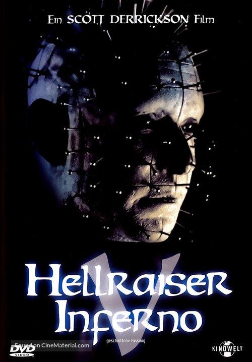 Hellraiser: Inferno - Movie Cover