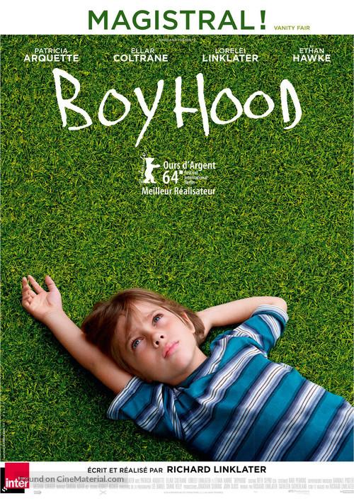 Boyhood - French Movie Poster