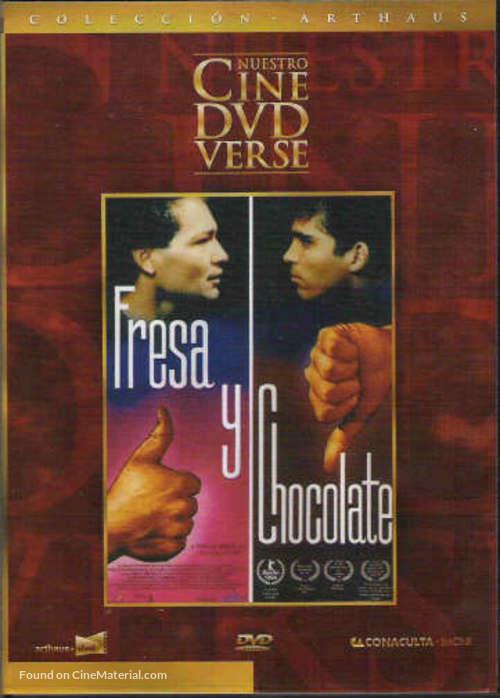 Fresa y chocolate - Spanish DVD movie cover