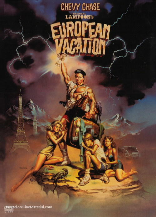 European Vacation - Movie Cover