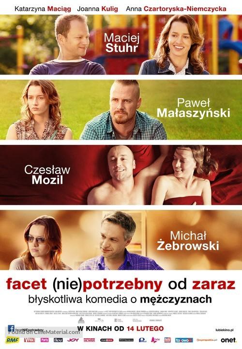 Facet (nie)potrzebny od zaraz - Polish Movie Poster
