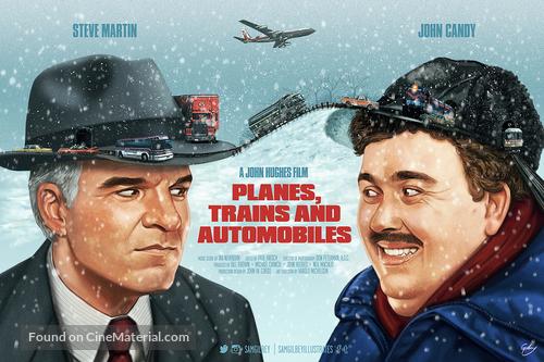 Planes, Trains & Automobiles - Movie Poster