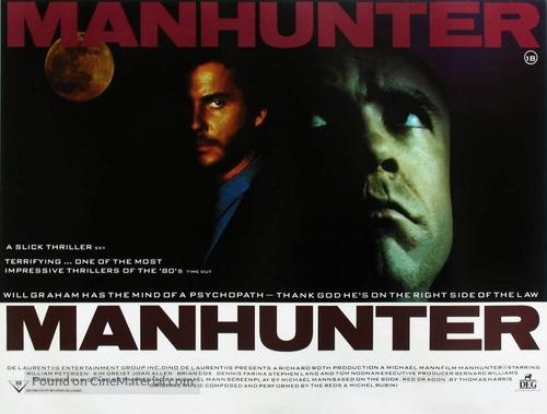 Manhunter - British Movie Poster