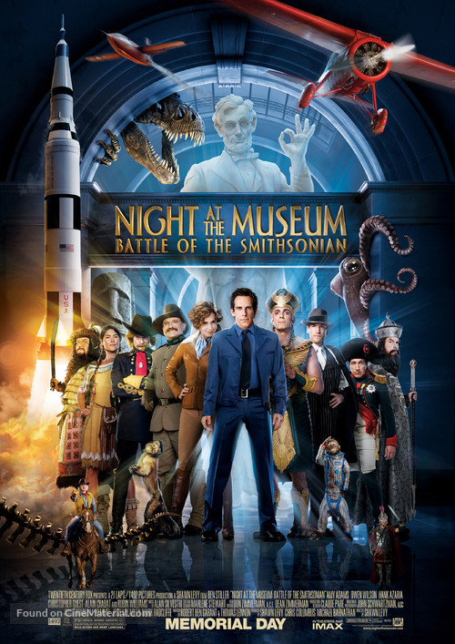 Night at the Museum: Battle of the Smithsonian - Movie Poster