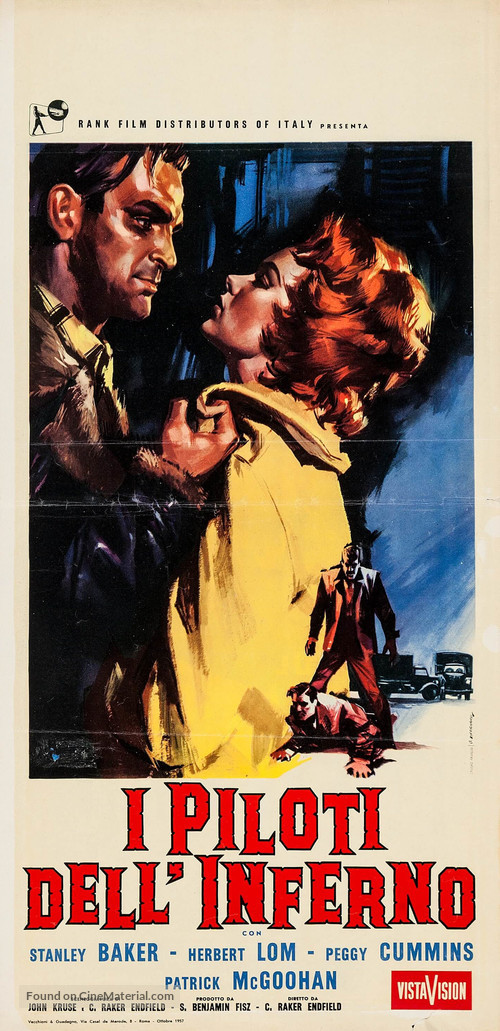 Hell Drivers - Italian Movie Poster