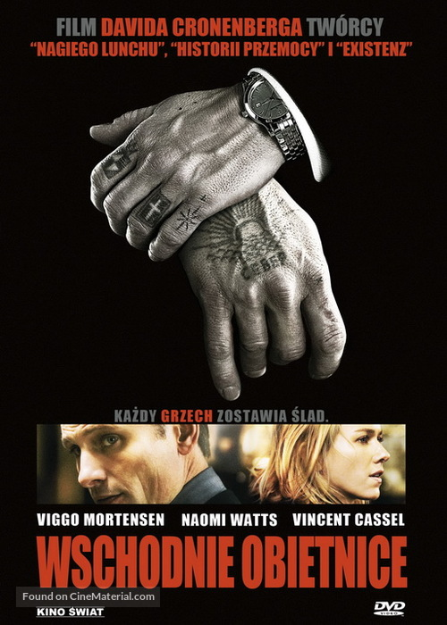 Eastern Promises - Polish Movie Cover
