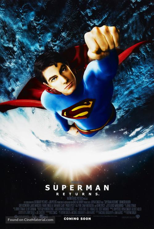 Superman Returns - Movie Poster