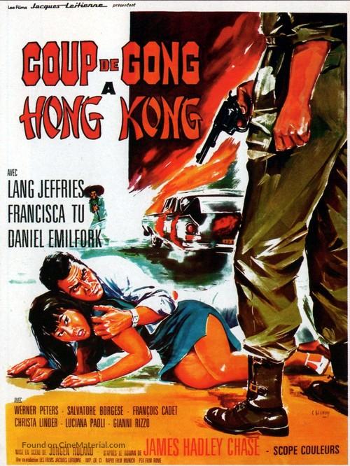 Lotosblüten für Miss Quon - French Movie Poster