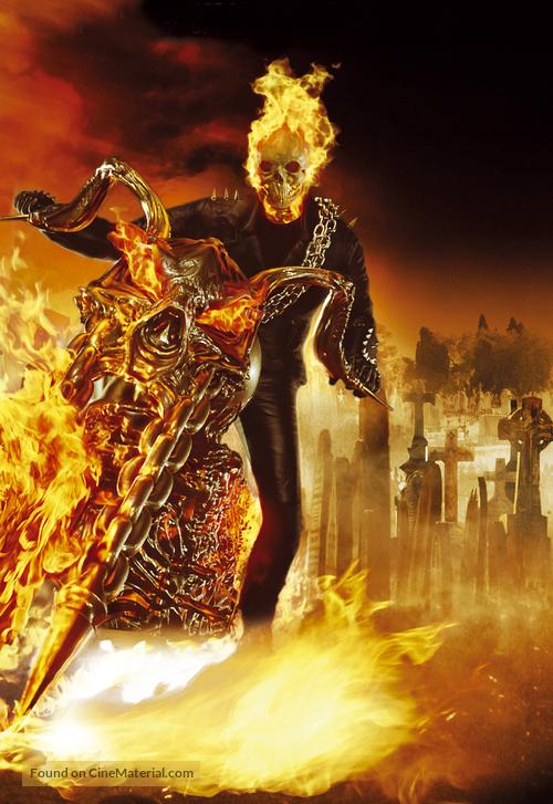 Ghost Rider - British Key art