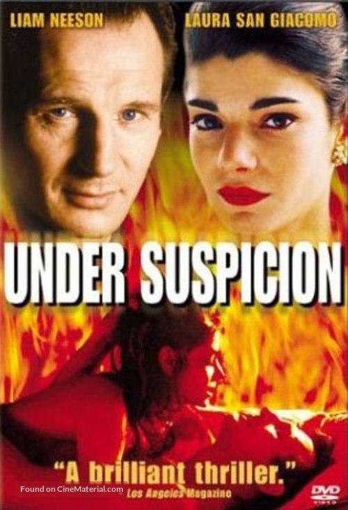 Under Suspicion - DVD movie cover
