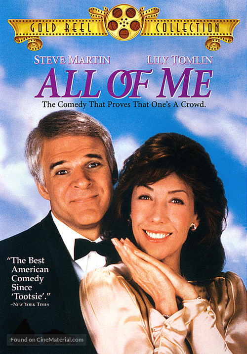 All of Me - DVD movie cover