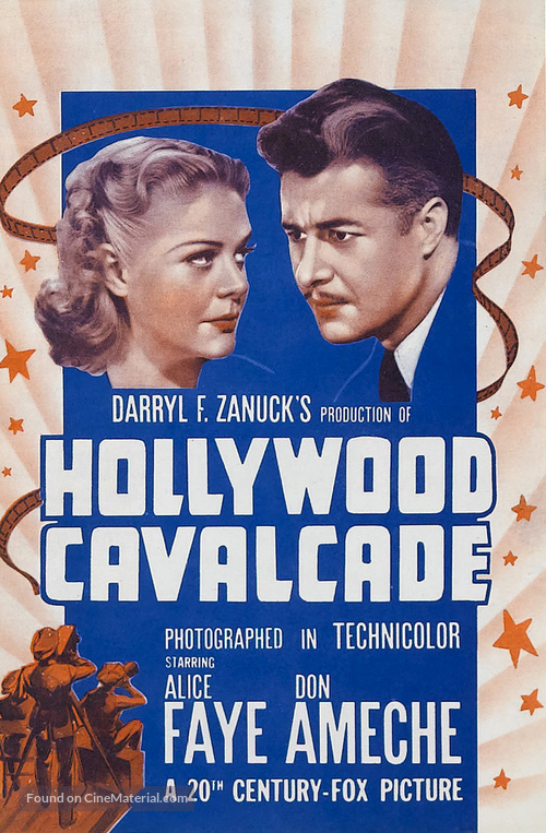 Hollywood Cavalcade - poster