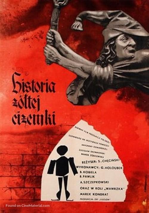 Historia zóltej cizemki - Polish Movie Poster