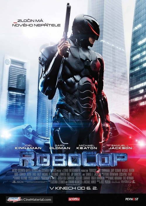 RoboCop - Czech Movie Poster