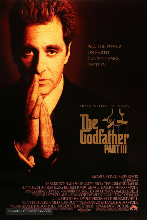 The Godfather: Part III - Movie Poster