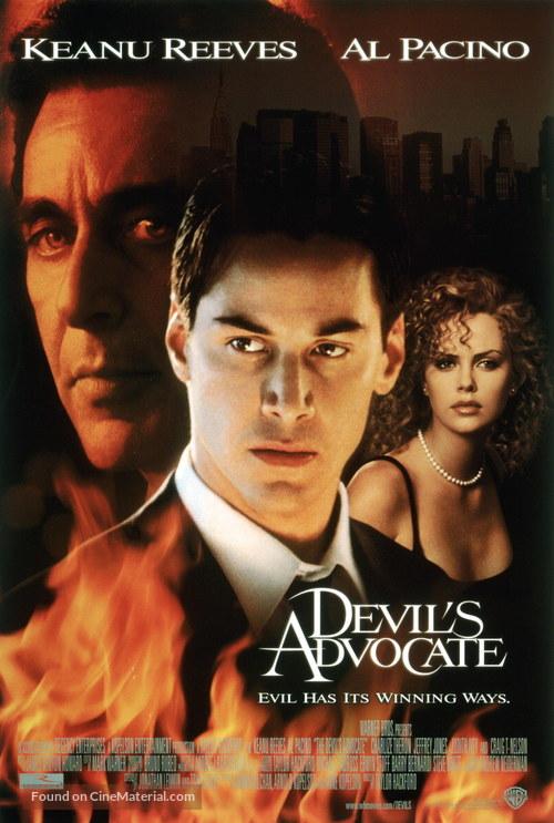 The Devil's Advocate - Movie Poster