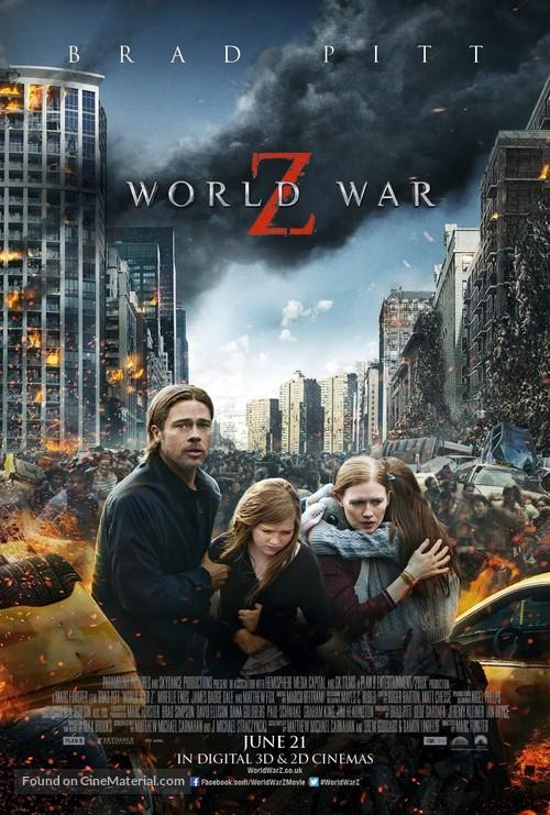 World War Z - British Movie Poster