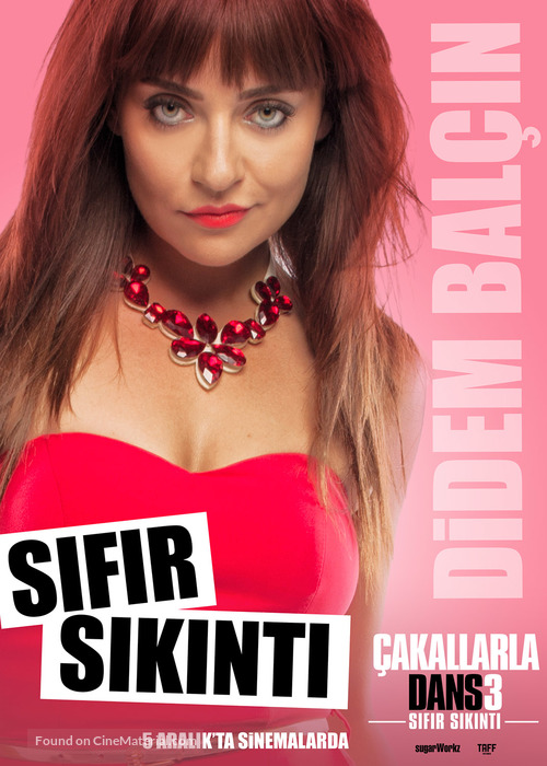 Çakallarla Dans 3: Sifir Sikinti - Turkish Movie Poster