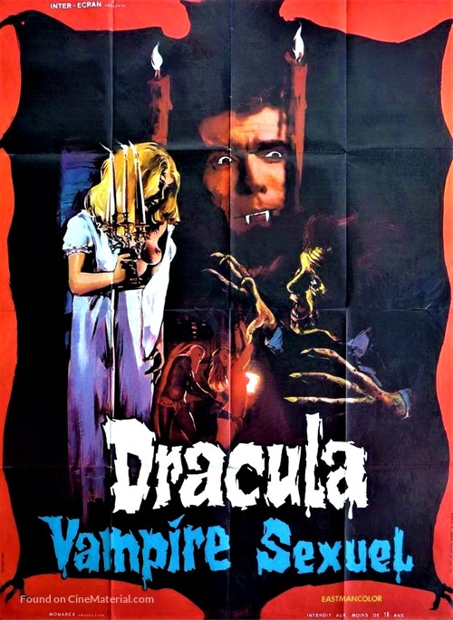Guess What Happened to Count Dracula? - French Movie Poster