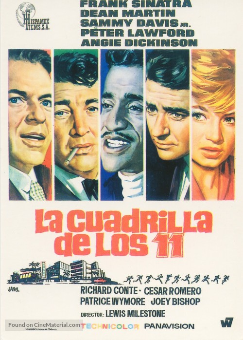 Ocean's Eleven - Spanish Movie Poster
