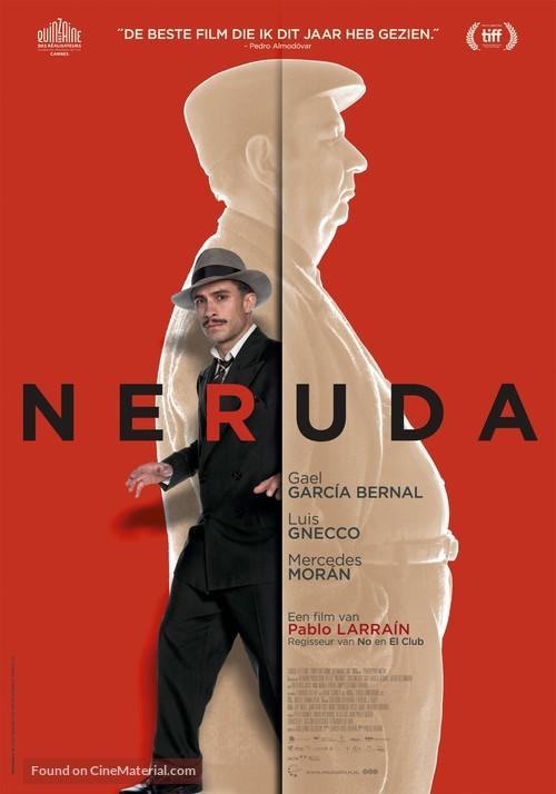 Neruda - Dutch Movie Poster