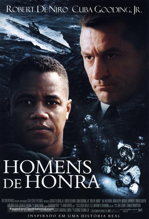 Men Of Honor - Brazilian Movie Poster