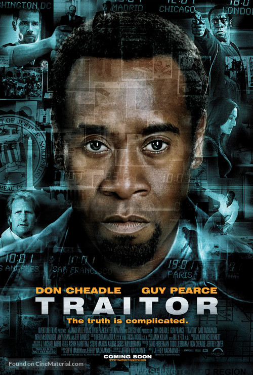 Traitor - Movie Poster