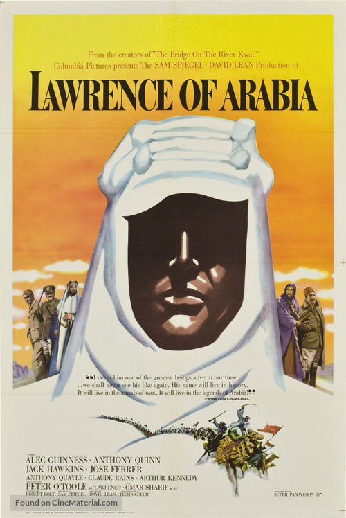 Lawrence of Arabia - Movie Poster