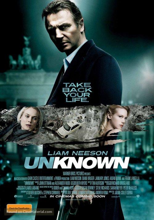 Unknown - Australian Movie Poster