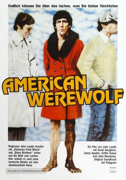 An American Werewolf in London - German Movie Poster