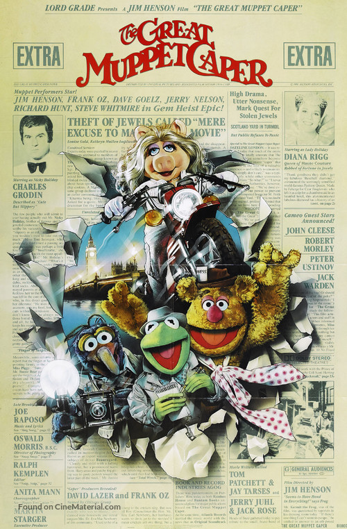 The Great Muppet Caper - Movie Poster
