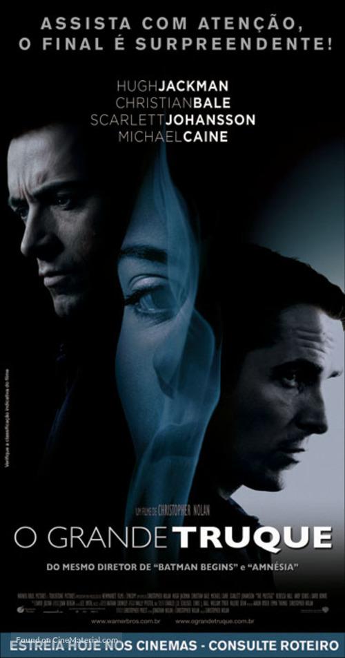 The Prestige - Brazilian Movie Poster