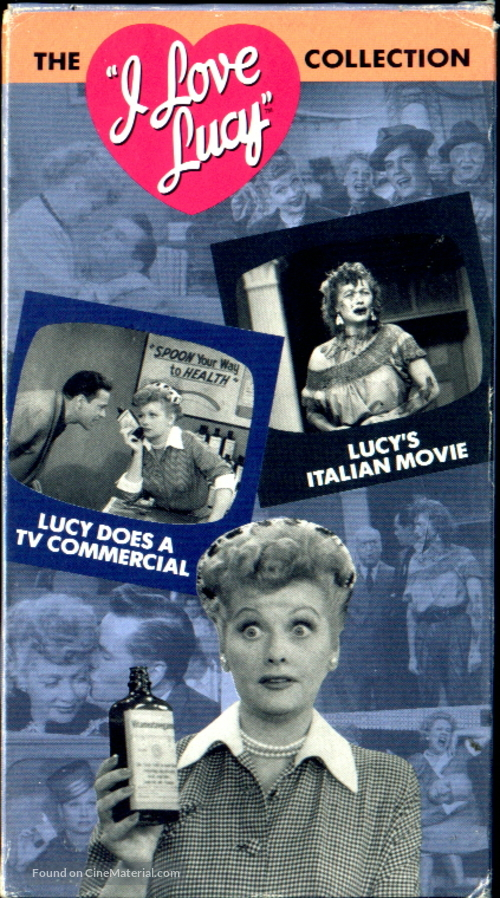 """""""I Love Lucy"""" - VHS movie cover"""