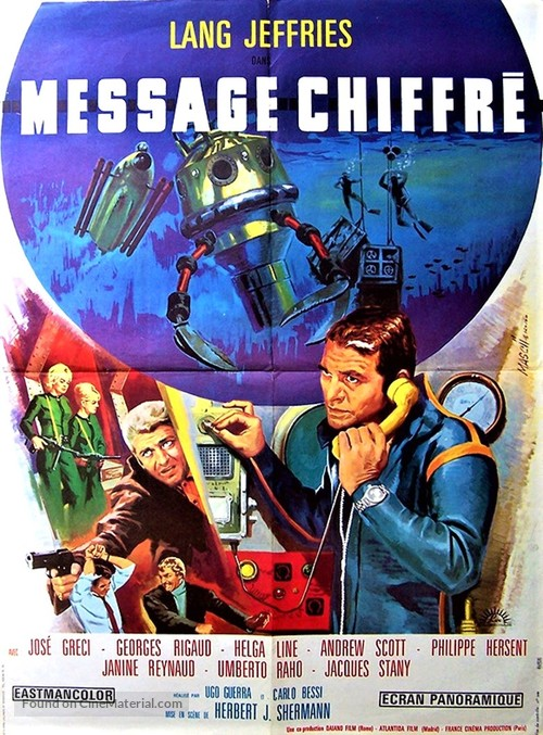Cifrato speciale - French Movie Poster