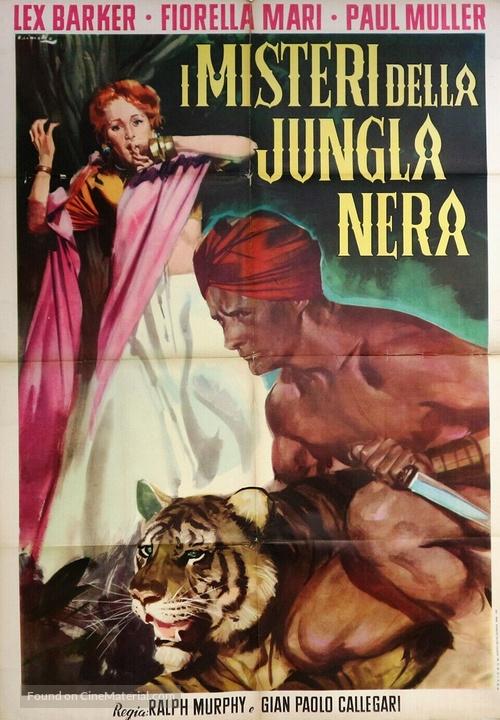 I misteri della giungla nera - Italian Movie Poster