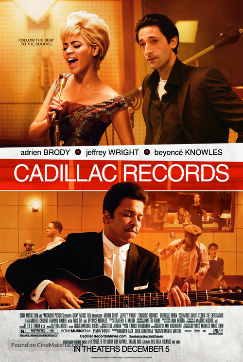 Cadillac Records - Theatrical movie poster