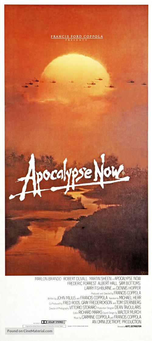 Apocalypse Now - Australian Movie Poster