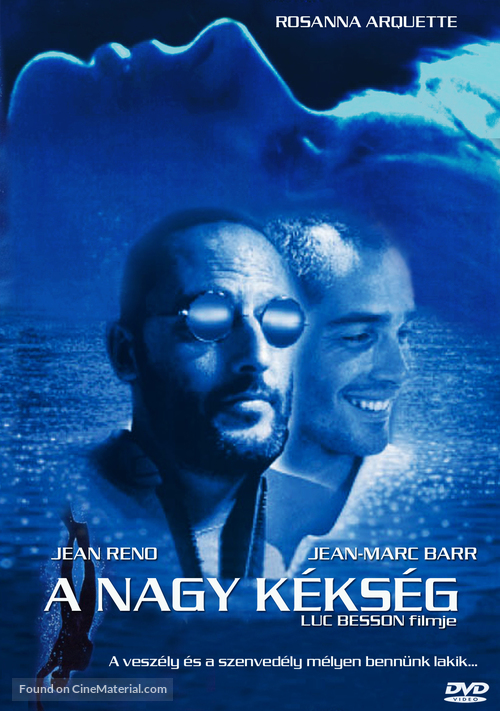 Le grand bleu - Hungarian Movie Cover