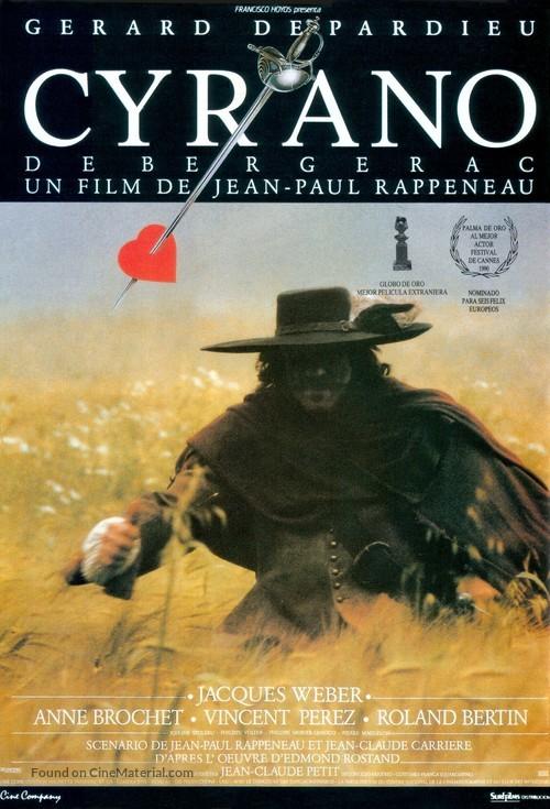 Cyrano de Bergerac - Spanish Movie Poster