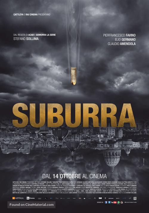 Suburra - Italian Movie Poster