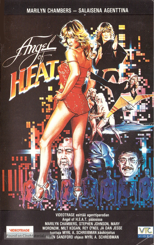 Angel of H.E.A.T. - Finnish VHS movie cover