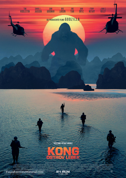 Kong: Skull Island - Czech Movie Poster