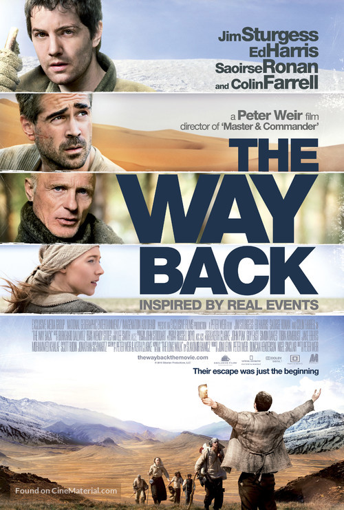 The Way Back - Movie Poster