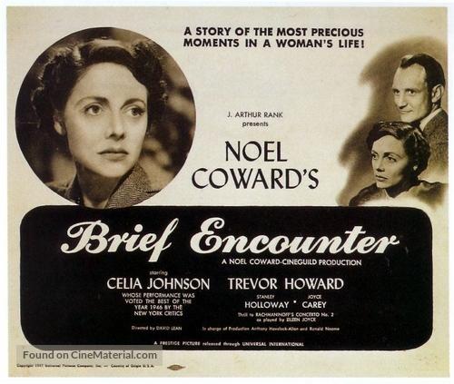 Brief Encounter - British Movie Poster