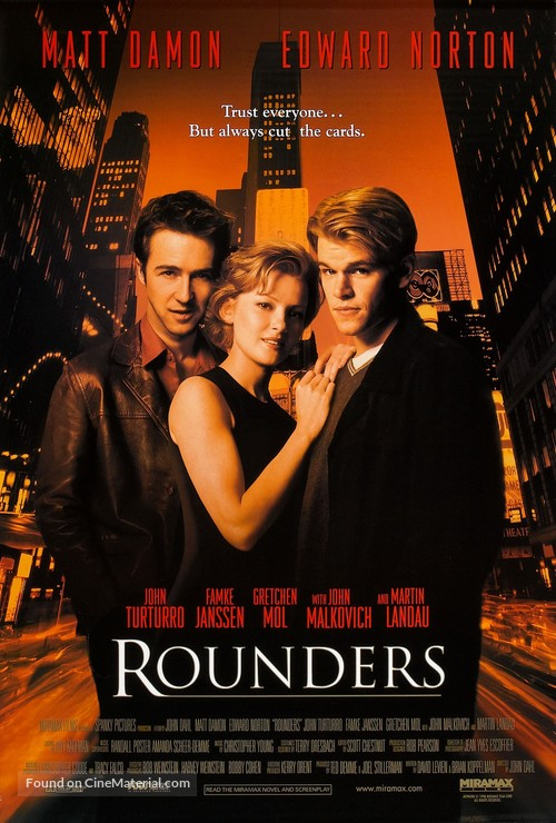 Rounders - Movie Poster