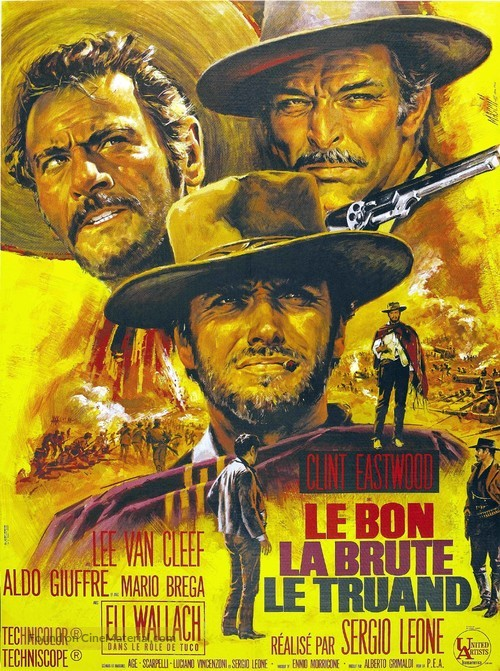 Il buono, il brutto, il cattivo - French Movie Poster
