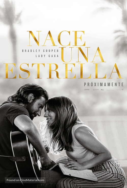 a star is born argentinian movie poster