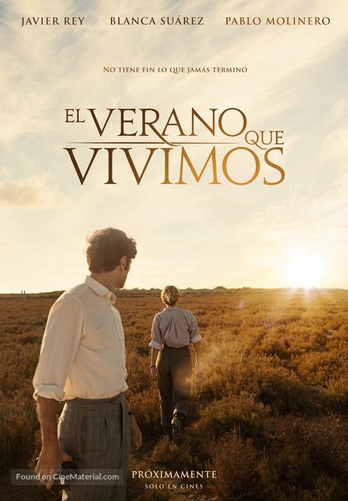 El verano que vivimos - Spanish Movie Poster