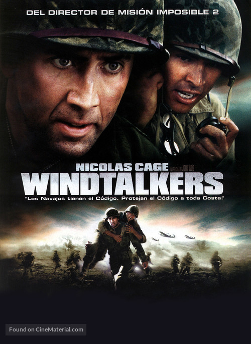 Windtalkers - Spanish DVD movie cover