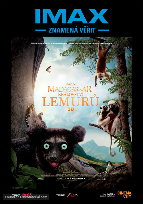 Island of Lemurs: Madagascar - Czech Movie Poster